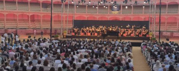 La New York Youth Symphony brilla en la primera noche de la XXª Semana de la Música, La joven orquesta, compuesta por 110 virtuosos miembros de entre 12 y 22 años, realizó su debut europeo en la Plaza de Toros de Ronda , 03 Jul 2019 - 18:38
