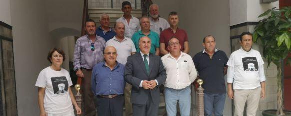 Algeciras acoge un encuentro de alcaldes para reivindicar mejoras en el sector ferroviario, Los representantes de los ayuntamientos de la Serranía de Ronda…, 08 Jul 2019 - 18:04