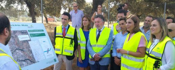 La Junta de Andalucía retoma las obras de la variante de Arriate tras siete años de parálisis, Los trabajos tendrán un plazo de diez meses y una inversión de 5,4 millones de euros, basados en un proyecto que actualiza el original, 22 Jul 2019 - 16:56