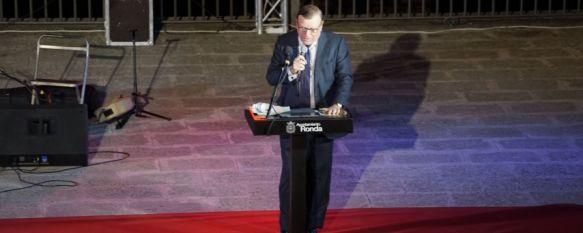 Comienza la Feria con el Pregón oficial y la Imposición de medallas a Goyescas, El cómico de los Morancos César Cadaval fue el encargado de…, 23 Aug 2019 - 19:35
