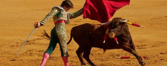 El rondeño Cayetano López, al igual que Moli de Ronda, debutó en la plaza de toros de nuestra ciudad // JCB