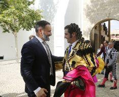 Morante dedicó el segundo de su lote al líder de VOX, Santiago Abascal  // Arjona