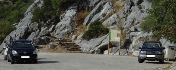 La Guardia Civil detiene a dos personas por robar en un turismo en la Cueva de la Pileta, Desde el mes de septiembre se venían registrando sustracciones en el interior de vehículos estacionados en el aparcamiento de la gruta, 09 Nov 2011 - 15:44