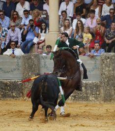 Diego Ventura volvió a sobresalir en Ronda  // Arjona