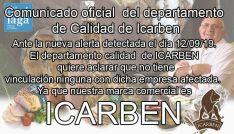 Comunicado de Icarben  // Icarben