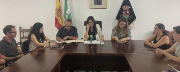 Benaoján sale en defensa de sus empresas del sector cárnico y anuncia movilizaciones , La alcaldesa, Soraya García, acusa a la Junta de crear alarma…, 13 Sep 2019 - 18:13