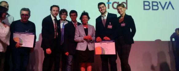 La propuesta de un alumno del IES Martín Rivero recibe el premio Acción Magistral de BBVA