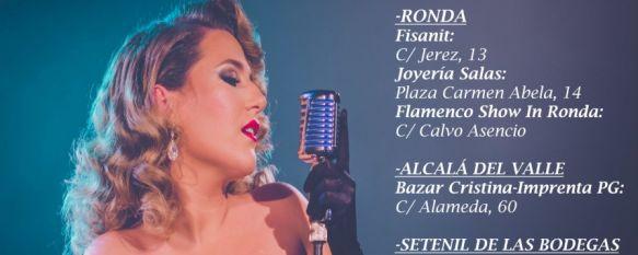 """Laura Gallego presenta en Ronda su nuevo disco """"Sin Fronteras"""", La ganadora de la segunda edición de """"Se llama Copla"""" actúa…, 08 Oct 2019 - 19:32"""