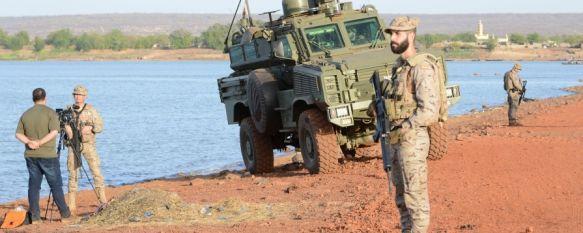 Más de un centenar de soldados del Grupo de Caballería participaron en EUTM-Mali XI // M. Temprano