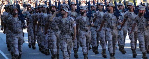 La Legión despide en Ronda al contingente que desplegará en Mali a finales de noviembre, La Xª Bandera será la unidad base durante los seis próximos meses en una nueva rotación de esta misión de la Unión Europea, 28 Oct 2019 - 12:34
