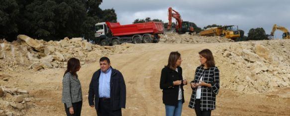 La Junta anuncia que las obras de la Variante de Arriate concluirán en el verano de 2020, La delegada provincial de Fomento, Carmen Casero, ha asegurado que antes de que termine el año se iniciarán los trabajos de pavimentación en la vía Ardales-Ronda, 31 Oct 2019 - 18:37