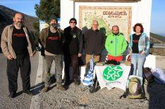Miembros de la Plataforma Sierra Bermeja Parque Nacional. // CharryTV