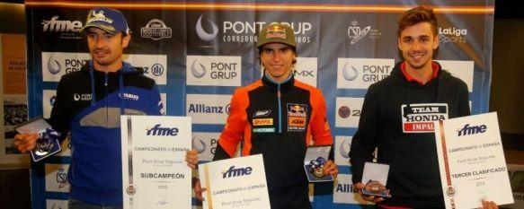 El rondeño Cris Guerrero se proclama campeón de España de Enduro en Lalín