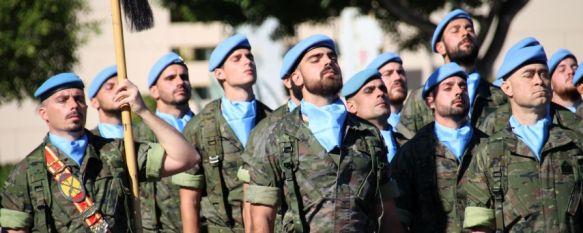 La Legión despide en Almería al contingente Libre Hidalgo XXXII que desplegará en Líbano, El acto estuvo presidido por el general Marcos Llago, jefe de…, 11 Nov 2019 - 13:36
