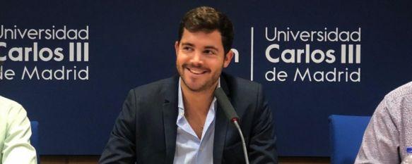 Ricardo Calle: Una joven promesa rondeña dando sus primeros pasos en la política en Madrid, A sus 23 años ejerce como vocal vecino del PP en el Distrito de Chamartín y es el primer andaluz en ser designado como Delegado de la Universidad Carlos III de Madrid, 10 Dec 2019 - 17:19