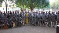 Imagen de parte del contingente español desplegado en Mali  // CharryTV