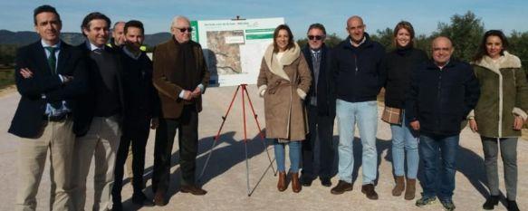 Fomento estima que las obras para la Variante Este de Arriate concluirán a finales de primavera, El viceconsejero Jaime Raynaud ha informado de que el proyecto tendrá una inversión de unos seis millones y medio de euros , 13 Jan 2020 - 17:51