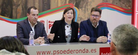 Ruiz Espejo critica a la Junta por incumplir sus promesas con la comarca de Ronda, El secretario general del PSOE de Málaga ha lamentado aspectos como la supresión de la oficina liquidadora de nuestra ciudad y el déficit en infraestructuras, 20 Jan 2020 - 11:15