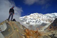 Con su trabajo de guía turístico de aventura, Miramón ha logrado unir dos de sus pasiones: naturaleza y viajes. // Juan José Miramón