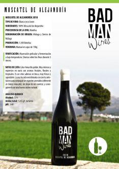 Detalles del vino premiado. // BadMan Wines