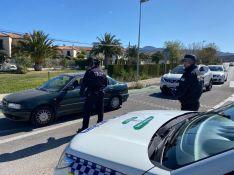 La Policía Local y Guardia Civil realizan controles a los vehículos que circulan por la ciudad o en sus inmediaciones. // CharryTV