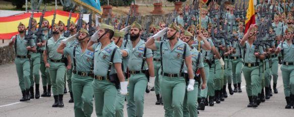 Efectivos de La Legión se unen desde hoy al dispositivo de seguridad en Ronda, Unos 60 legionarios de la Xª Bandera y del Grupo de Caballería apoyarán a los cuerpos de seguridad y realizarán reconocimientos en infraestructuras , 18 Mar 2020 - 12:23