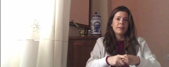 La importancia del autocuidado en tiempos de coronavirus, Desde Farmacia Serrano Aznarte, María Serrano recuerda que los pacientes pluripatológicos pueden renovar su medicación por vía telefónica, 18 Mar 2020 - 18:39
