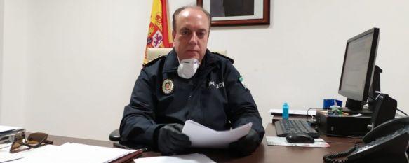 """José Carrasco: """"El grado de cumplimiento de las medidas es bastante alto"""", El Jefe de la Policía Local informa de que se ha sancionado a siete vecinos y recuerda las implicaciones de las medidas del Real Decreto de Estado de Alarma, 19 Mar 2020 - 17:01"""