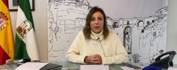 Ronda cuenta con 15 casos positivos por COVID-19 y un alta médica, La alcaldesa, María de la Paz Fernández, confía en que nuestra ciudad sea receptora de las pruebas rápidas de detección del coronavirus, 24 Mar 2020 - 16:33