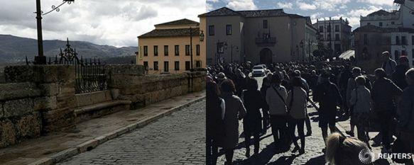 El rondeño Juan Jesús Vivas refleja en The Guardian el impacto del COVID-19 en Ronda, Las imágenes del fotoperiodista que ha publicado el diario británico muestran rincones de la ciudad antes y durante el decreto de Estado de Alarma, 26 Mar 2020 - 17:09