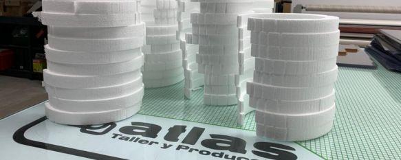 Cinco compañías rondeñas unidas para fabricar pantallas protectoras , Atlas Publicidad, Top Buggy, MRW Ronda, el Club Ascari Harman, y Construcciones MAD prevén construir 5.000 unidades para profesionales que las necesiten, 27 Mar 2020 - 17:33