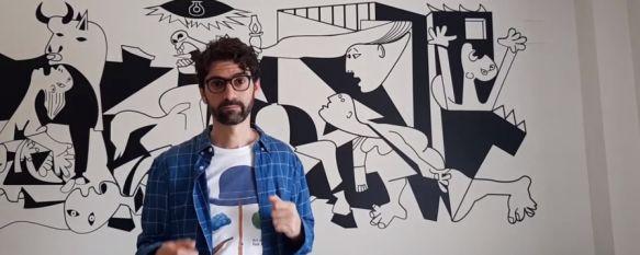 """""""Lengüeando que es gerundio"""", un aliciente para acercar a los jóvenes la Lengua, El profesor rondeño Luis Almagro ha creado un canal de YouTube…, 01 Apr 2020 - 20:46"""
