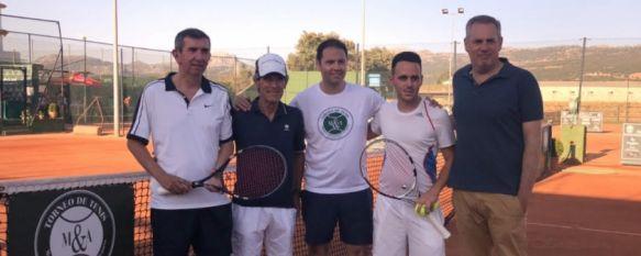 Morales & Arnal suspende su torneo de tenis, pero donará la cantidad que se recaudó en 2019, El destinatario de los 625 euros será el Centro Residencial…, 05 Apr 2020 - 19:52