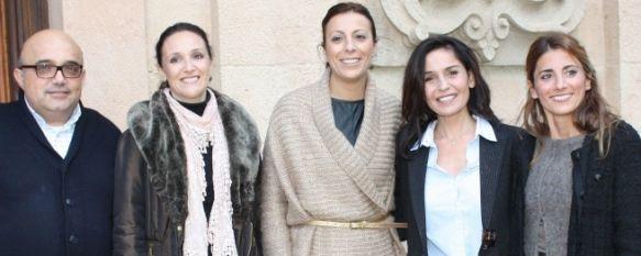 Blanca Marsillach protagoniza un taller sobre violencia de género, La Diputación de Málaga  ha atendido a tres mujeres de la Comarca por agresión machista  , 24 Nov 2011 - 19:58