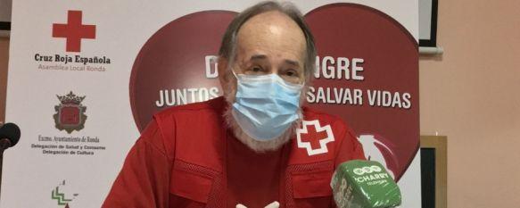 """""""Hemos hecho más de 1.000 intervenciones humanitarias"""", Desde el inicio de la crisis por el COVID-19, la Asamblea local de Cruz Roja en Ronda ha repartido más de 20 toneladas de alimentos entre 370 familias necesitadas, 24 Apr 2020 - 11:28"""