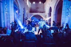 El grupo se encargó de la producción de diversos vídeos musicales que tuvieron como escenario el Convento de Santo Domingo. // Anthony Jiménez Orquesta
