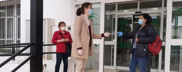 """Las trabajadoras de ayuda a domicilio dan negativo por coronavirus, Más de 50 profesionales de este servicio municipal se han sometido esta mañana a los tests serológicos, conocidos como """"rápidos"""", que detectan la presencia de anticuerpos, 28 Apr 2020 - 17:14"""