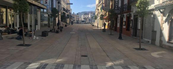 El Ayuntamiento de Ronda abrirá al tráfico el lunes día 11 la avenida Virgen de la Paz, La primera fase del proyecto, cuyas obras han sido ejecutadas por Bongo Adecuaciones con personal rondeño, han contado con un presupuesto cercano a los 80.000 euros , 06 May 2020 - 12:25