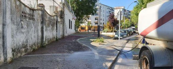 SOLIARSA estudia contratar nuevo personal para llevar a cabo tareas de desbroce, De los 60 operarios de la empresa municipal de limpieza, 40 de ellos desinfectan por grupos calle por calle, incidiendo en las zonas de mayor tránsito, 07 May 2020 - 19:43