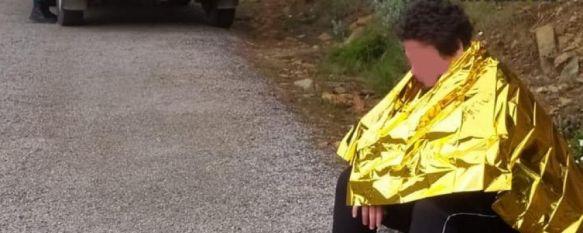 Guardias Civiles de Ronda rescatan a un joven que había desaparecido en Estepona, El chico, diagnosticado de un trastorno del espectro autista, salió a pasear el día anterior, y fue localizado en la Sierra de Peñas Blancas , 08 May 2020 - 11:10
