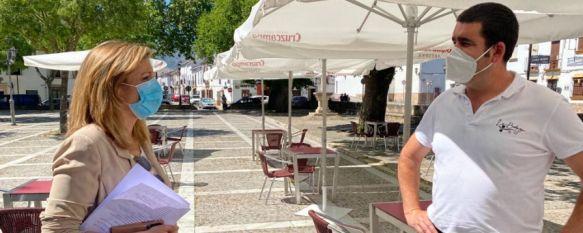 El Ayuntamiento otorga 42 licencias de ampliación de terrazas a bares y restaurantes, Otras 16 han sido denegadas, dado que las condiciones de estos espacios, de ampliarse, no hubieran permitido el tránsito de peatones, 21 May 2020 - 13:24