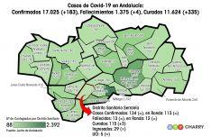 El distrito Serranía cuenta con le mismo número de contagios acumulados que el distrito Levante-Alto Almanzora. // Juan Velasco