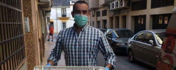 La Panadería Hermanos Gil de Montejaque dona pan al grupo de Solidari@s en Ronda, Javier Gil, uno de sus propietarios, ha abastecido a unas 40…, 25 May 2020 - 12:53