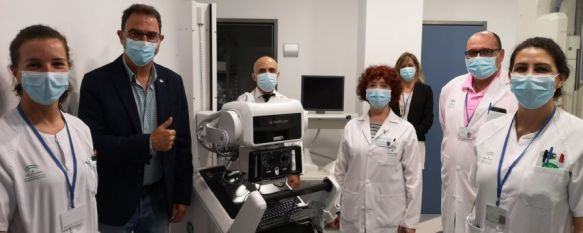 El Hospital Comarcal recibe un nuevo equipo de radiología donado por Endesa, El dispositivo, que ayudará a luchar contra el coronavirus, se añade a otro que ha adquirido el Servicio Andaluz de Salud, 04 Jun 2020 - 17:26