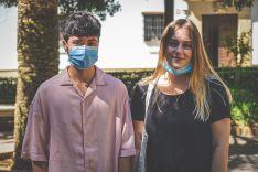 Erik Galán, transexual, y Angelina Novikova, bisexual, ambos de 20 años, son pareja. // Juan Velasco