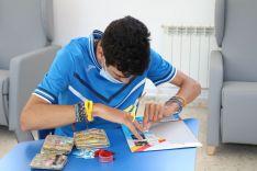 Las personas con discapacidad intelectual tienen acceso a talleres de cerámica, repostería y cosmética natural. // Asprodisis