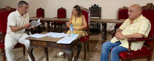El Ayuntamiento presenta al equipo redactor del Plan Especial del Conjunto Histórico, El proyecto será ejecutado en tres años por el estudio de arquitectos de Granada García de los Reyes, con un presupuesto de 140.000 euros, 02 Jul 2020 - 11:33