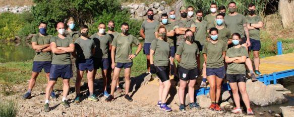 La Cueva del Gato vuelve a ser accesible gracias a La Legión, Efectivos de la Xª Bandera han instalado hoy una pasarela provisional,…, 06 Jul 2020 - 12:36