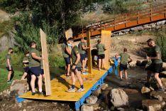 El puente permanecerá en este espacio durante los meses de julio y agosto // Manolo Guerrero