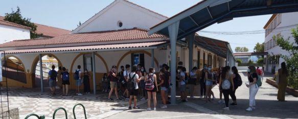 Un total de 329 alumnos se presentan en Ronda desde hoy a Selectividad, El Instituto Rodríguez Delgado acogerá hasta el jueves la…, 07 Jul 2020 - 17:07
